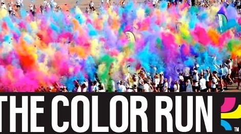 The Color Run Meo Kanal Transmite «The Color Run» De Lisboa