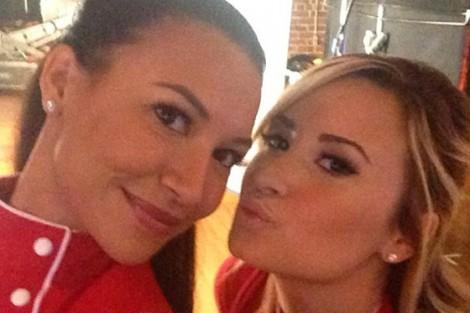 Rs 560X415 130829151857 560.Naya Demi Instagram.jl .082913 Demi Lovato Lésbica Em «Glee»