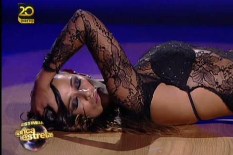 550 Rita Pereira em risco de ficar sem par no «Dança com as Estrelas»