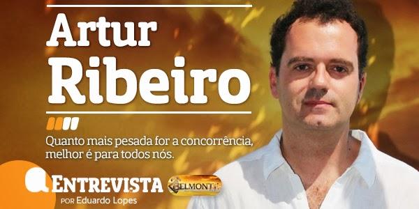 Artur Ribeiro Destaque A Entrevista - Artur Ribeiro