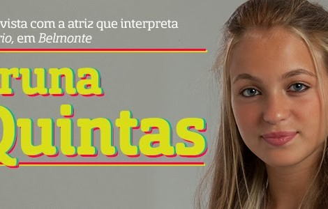 Bruna Quintas Destaque A Entrevista - Bruna Quintas