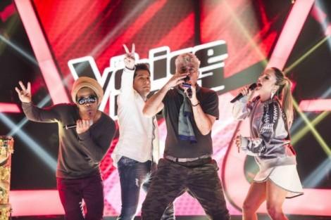 Carlinhos Brown Claudia Leitte Daniel E Lulu Santos 620X4122 Segunda Temporada De «The Voice Brasil» Conquista Horário Nobre No Brasil