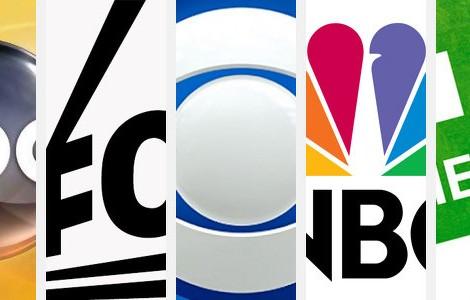 Abc Fox Cbs Nbc Cw Logos Series 2013 2014 [Estreia] A Bolha Das Séries 2