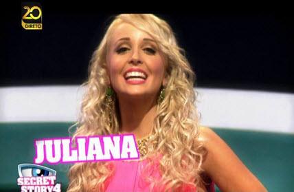 Juliana Secret Story 4 Casa Dos Segredos Juliana Expulsa Da «Casa Dos Segredos 4»