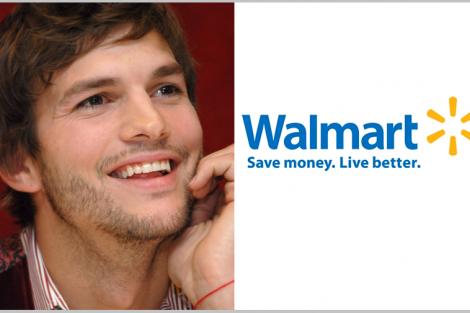Ashton Kutcher E Walmart Ashton Kutcher Debate Baixos Salários De Empresa Americana