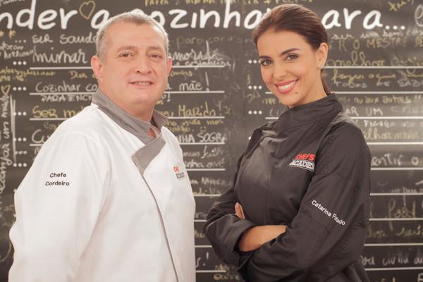 Chefs catarina Catarina Furtado fala sobre «Chefs Academy»