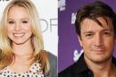 Kristen Bell and Nathan Fillion Kristen Bell e Nathan Fillion apresentarão gala de «American Music Awards»