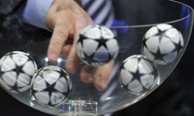 Sorteio Champions