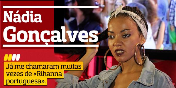 Destaque Nádia Goncalves A Entrevista - Nádia Gonçalves