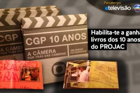 Livros 10 Anos Tv Globo 620X3391 Natal Atv   Passatempo Atv/Globo   Ganha Já!