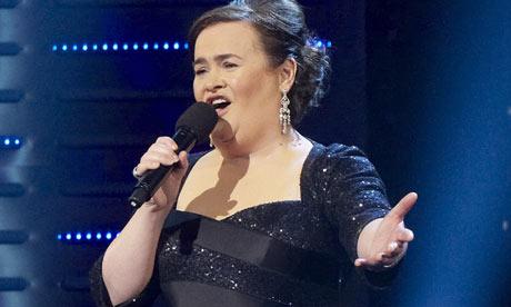 Susan Boyle Susan Boyle Volta A Brilhar No Palco De Got Talent, Desta Vez Nos Eua