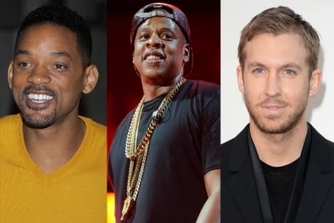 140122 Will Smith Jay Z Calvin Harris Calvin Harris, Will Smith E Jay-Z Produzirão Nova Série