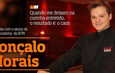 Destaque A Entrevista - Gonçalo Morais
