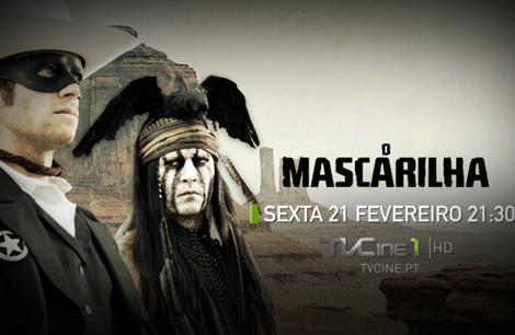 Mascarilha Tv Cine «The Lone Ranger» Estreia Nos Canais Tvcine