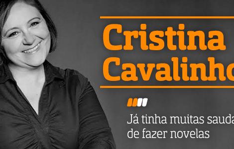 Destaque Cristina Cavalinhos A Entrevista - Cristina Cavalinhos