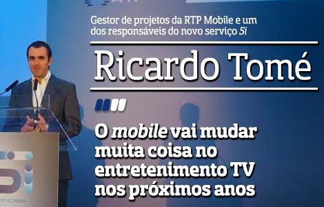 Destaque Ricardo Tomé A Entrevista - Ricardo Tomé