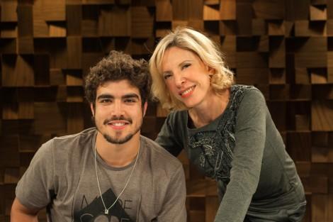 Caio Castro E Marília Gabriela Foto Marcia Alves Globo Renova Contrato De Caio Castro
