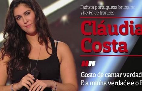 destaque CláudiaCosta A Entrevista - Cláudia Costa