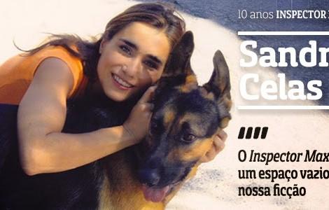 Sandra Celas Atv A Entrevista - 10 Anos «Inspector Max»: Sandra Celas