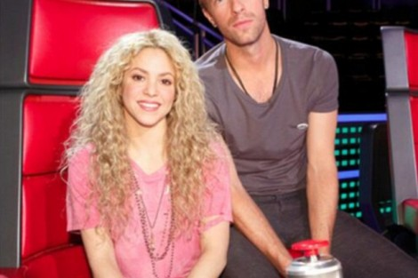 Shakira Chris Martin Vocalista Dos Coldplay Reforça «The Voice Us»