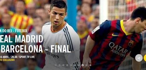 Real Madrid Barcelona Taca Do Rei 2014 Real Madrid X Barcelona Em Direto Na Sport Tv Live