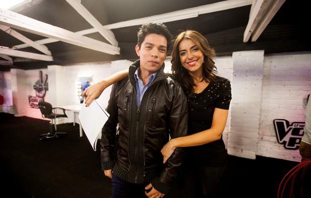 The Voice1 Notícia Atv: Catarina Furtado E Vasco Palmeirim Satisfeitos Com O «The Voice Portugal»