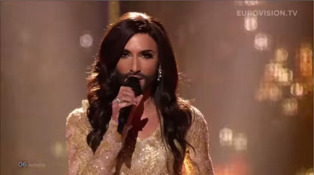 Conshita Wurst Áustria Vence «Festival Eurovisão Da Canção 2014»