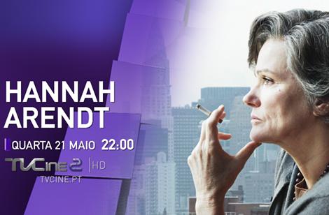 Hannah Arendt Tvcine «Hannah Arendt» Estreia Nos Canais Tvcine