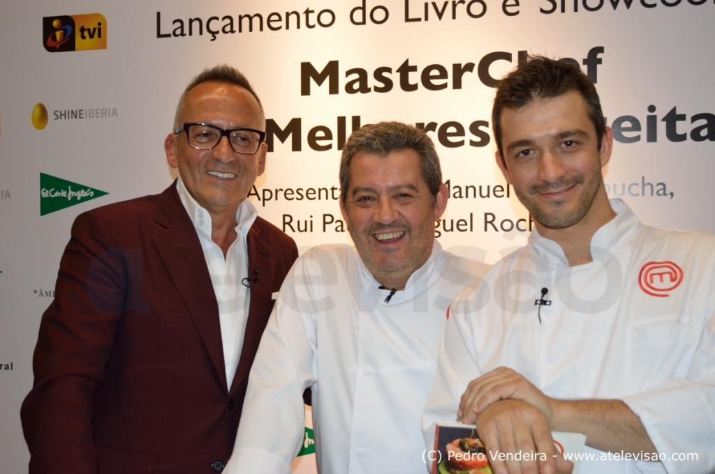 Manuel Rui Miguel Apresentacao Livro Masterchef Atelevisao Veja Fotos Do Lançamento Do Livro «Masterchef As Melhores Receitas»