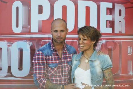 Paulo Marta Opoderdoamor Atelevisao Casal Que Desistiu Na Primeira Semana Está De Regresso Ao «O Poder Do Amor»