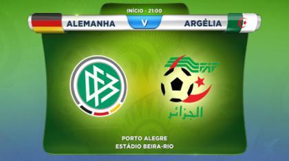 Alemanha X Argélia