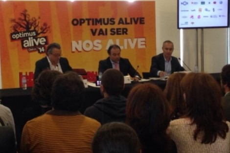 Optimus Alive 2014 Alive Vai Ter Canal De Tv