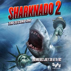 Sharknado 2 «Sharknado 2» estreia em Portugal em simultâneo com os Estados Unidos