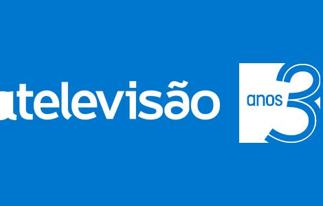 A Televisao 3 Aniversario A Televisão   Há Três Anos A Dizer Tudo.