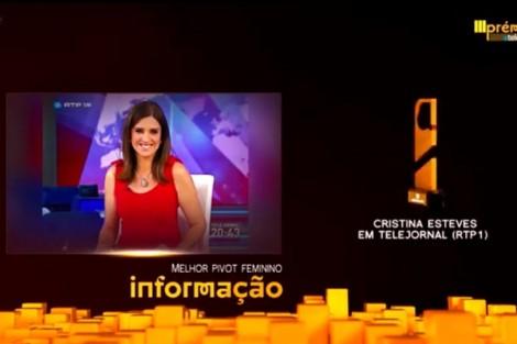 Cristina Cristina Esteves Fala Da Sua Vitória Nos Prémios Atv [Com Vídeo]