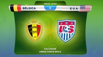 Bélgica X Estados Unidos