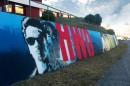 Ch Graffiti Segunda Circular Canal Hollywood Cria Mural Gigante Em Lisboa
