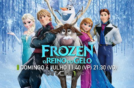 Frozen Tvcine «Frozen: O Reino Do Gelo» Estreia Nos Canais Tvcine