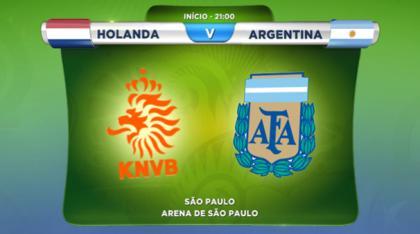 Holanda X Argentina Meias-Finais Do Mundial 2014: Holanda X Argentina Em Direto Na Rtp 1