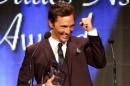 Matthew 620x430 Conheça os vencedores dos «TCA Awards 2014»