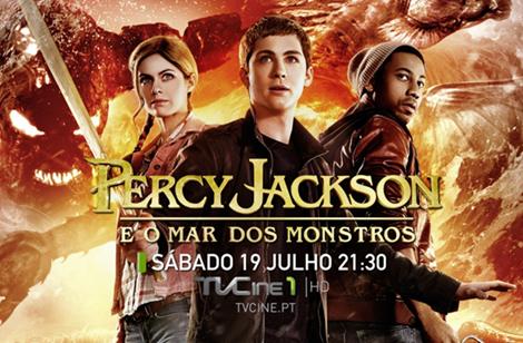 Percy Jackson «Percy Jackson: Sea Of Monsters» Estreia Nos Canais Tvcine