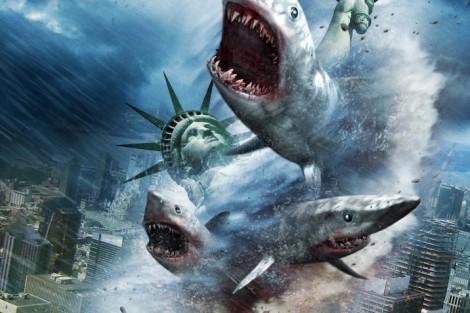 SHARKNADO 2 Syfy estreia «Sharknado 2» em Portugal