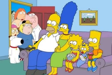 Simpsons Family Guy Crossover «Homer Simpson» E «Peter Griffin» Encontram-Se Em Episódio Especial