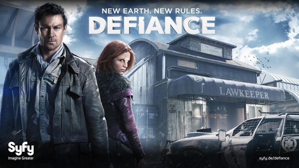 Defiance Title Card Syfy Define Estreias De Verão