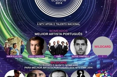 MTV EMA 2014 Nomeados Melhor Artista Português «MTV EMA 2014»: Conheça os nomeados para «Melhor Artista Português»
