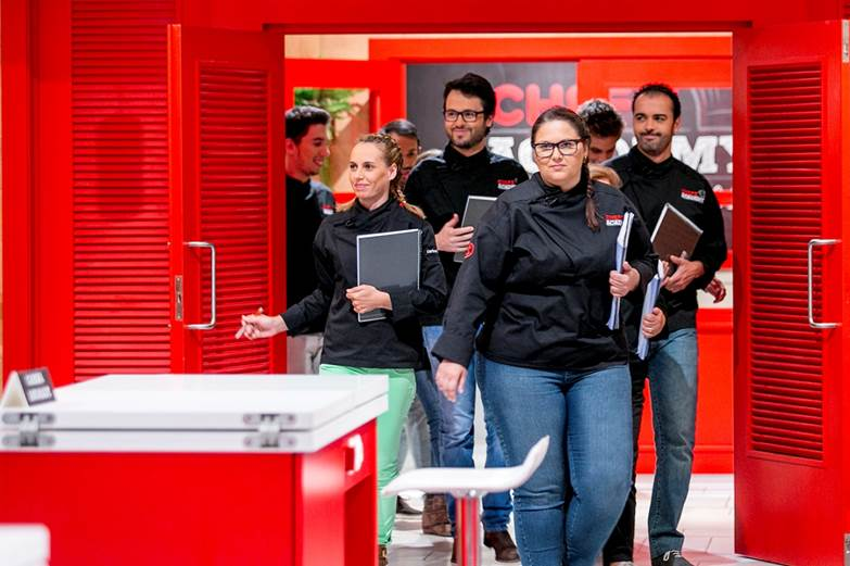 Chefs Academy Alunos «Chefs' Academy» Entra No Último Mês