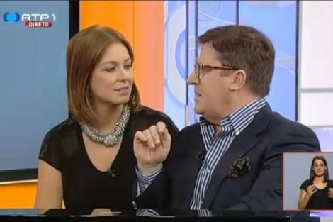 Ha Tarde Vanessa Oliveira Satisfeita Com A «Rotina» Criada Na Rtp