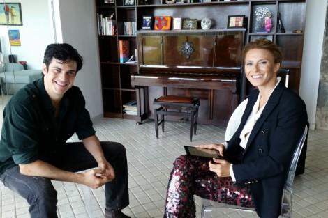 Sofia Cerveira Mateus Solano Sic Exibe Entrevista Exclusiva Com Mateus Solano