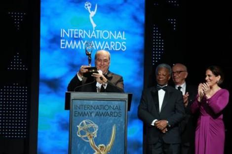 Globo Emmy Presidente Presidente Do Grupo Globo Foi Homenageado Na Cerimónia Dos International Emmys
