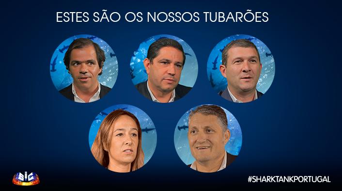 Tubarões Descubra Quanto Dinheiro Vão Investir Os «Tubarões» Em «Shark Tank Portugal»